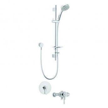 Deva Vision Dual Concealed Mixer Shower with Shower Kit