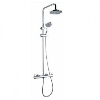 Deva Vision Cool Touch Bar Shower with Diverter and Adjustable Rail
