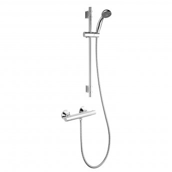 Deva Vista Cool Touch Bar Mixer Shower with Single Mode Kit - Chrome