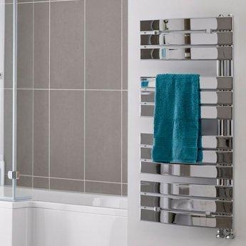 Duchy Aries Designer Heated Towel Rail 1080mm H x 550mm W Chrome