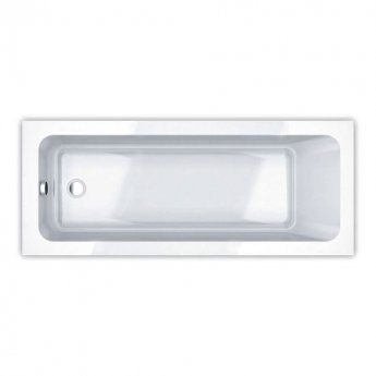 Duchy Bromley Single Ended Rectangular Bath 1700mm x 700mm Reinforced - Acrylic