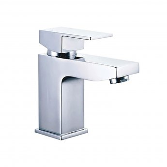 Duchy Edgeware Mono Basin Mixer Tap with Click Clack Waste - Chrome