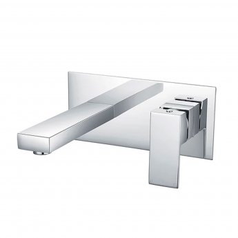 Duchy Edgeware Basin Mixer Tap - Chrome