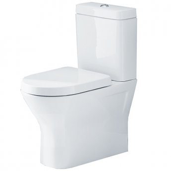 Duchy Ivy Flush-Fit Close Coupled Toilet, Push Button Cistern, Soft Close Seat