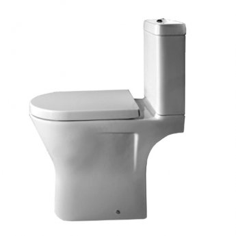Duchy Ivy Close Coupled Toilet, Push Button Cistern, Soft Close Seat