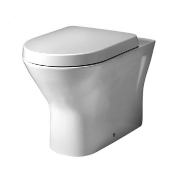 Duchy Ivy Back to Wall Rimless Toilet - Soft Close Seat