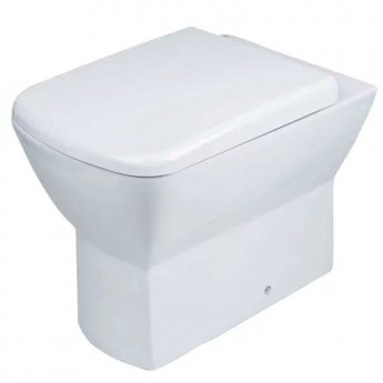 Duchy Jasmine Back to Wall Toilet WC 540mm Projection - Soft Close Seat