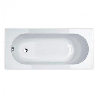 Duchy Kingston Single Ended Rectangular Bath 1800mm x 800mm 4mm - Acrylic