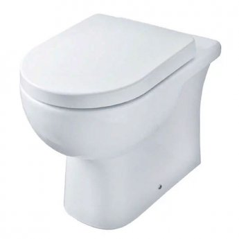 Duchy Lily Back to Wall Toilet WC 550mm Projection - Soft Close Seat
