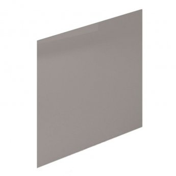 Duchy Nevada MDF Bath End Panel and Plinth 560mm H x 750mm W - Cashmere