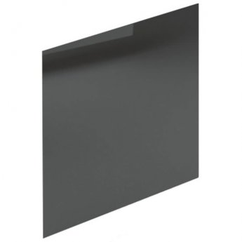Duchy Nevada MDF Bath End Panel and Plinth 560mm H x 700mm W - Dark Grey