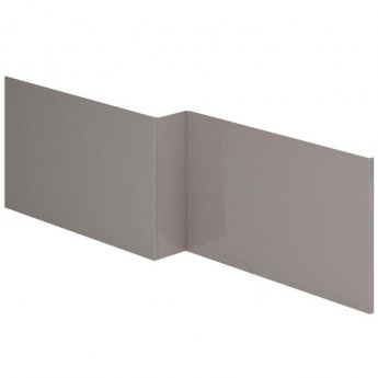 Duchy Nevada L-Shaped MDF Bath Front Panel 540mm H x 1700mm W - Cashmere