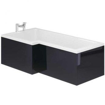 Duchy Nevada L-Shaped Bath Front Panel 1700mm Wide - Indigo Gloss
