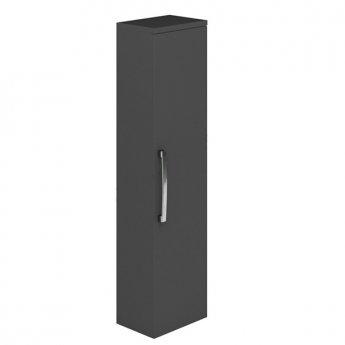 Duchy Nevada 1-Door Wall Hung Column Unit, 350mm Wide, Grey
