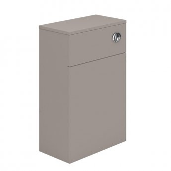 Duchy Nevada Back to Wall WC Unit, 500mm Wide, Cashmere