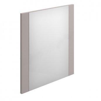 Duchy Nevada Square Bathroom Mirror, 600mm Wide, Cashmere
