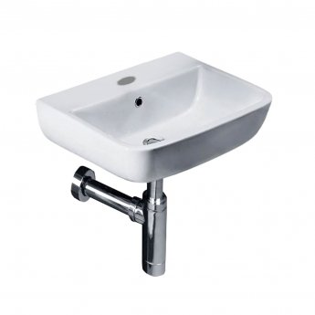 Duchy Orchid Cloakroom Basin 400mm W - 1 Tap Hole