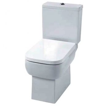 Duchy Orchid Close Coupled Toilet with Push Button Cistern - Soft Close Seat