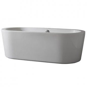 Duchy Pebble Modern Freestanding Bath 1700mm x 800mm 5mm - Acrylic