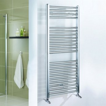 Duchy Standard Straight Towel Rail 1700mm H X 500mm W - Chrome