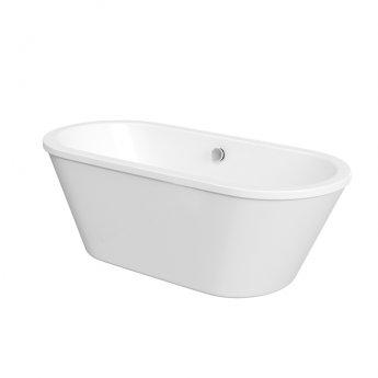 Duchy Strand Modern Freestanding Bath 1800mm X 800mm - Acrylic