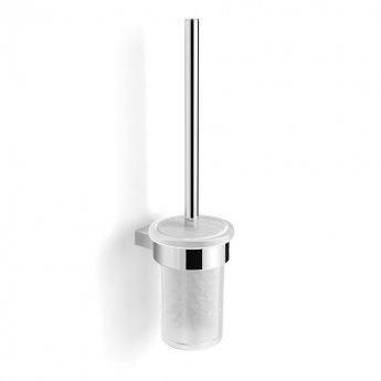 Duchy Urban Toilet Brush and Holder, Wall Mounted, Chrome