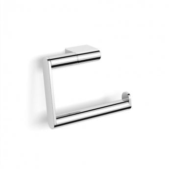 Duchy Urban Hinged Toilet Roll Holder, Wall Mounted, Chrome