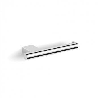 Duchy Urban Fixed Toilet Roll Holder, Wall Mounted, Chrome
