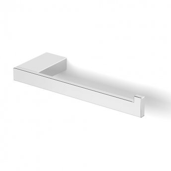 Duchy Urban Square Toilet Roll Holder, Right Handed, Chrome