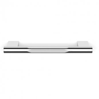 Duchy Urban Small Straight Grab Rail, 300mm Wide, Chrome