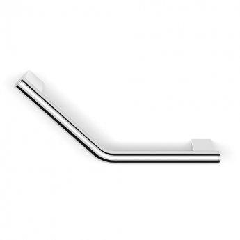 Duchy Urban Angled Grab Rail Bar, 370mm Wide, Chrome