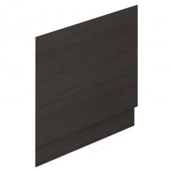 Duchy Vermont MDF Bath End Panel and Plinth 560mm H x 700mm W - Dark Grey