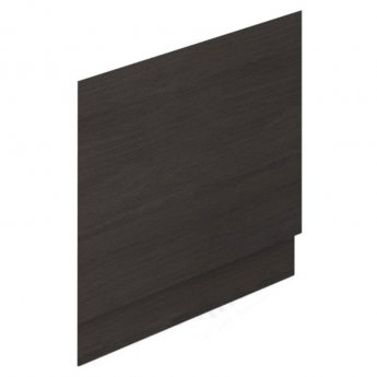 Duchy Vermont MDF Bath End Panel and Plinth 560mm H x 750mm W - Dark Grey