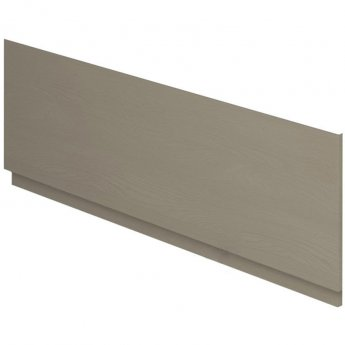 Duchy Vermont MDF Bath Front Panel and Plinth 560mm H x 1800mm W - Light Grey