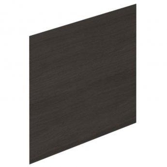 Duchy Vermont L-Shaped MDF Bath End Panel 540mm H x 700mm W - Dark Grey