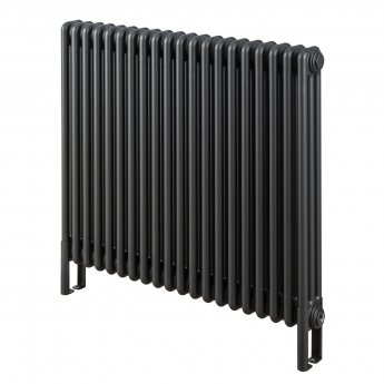 EcoRad Legacy 3 Column Radiator 602mm High x 609mm Wide 13 Sections - Graphex
