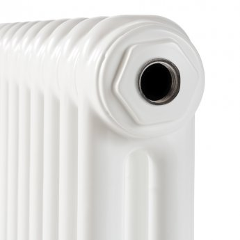 EcoRad Legacy 2 Column Radiator 602mm High x 834mm Wide 18 Sections - White