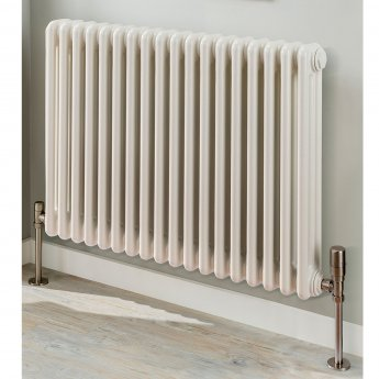 EcoRad Legacy 3 column Radiator 602mm High x 879mm Wide 19 Sections - White