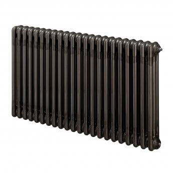EcoRad Legacy 3 Column Radiator 602mm High x 474mm Wide 10 Sections - Lacquer