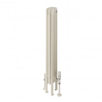 EcoRad Legacy 4 Column Radiator 602mm High x 159mm Wide 3 Sections - White