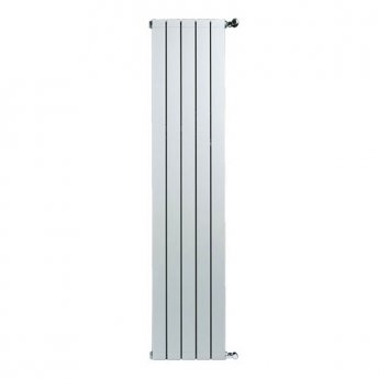 Faral Vertical Longo Aluminium Radiator 1642mm H x 340mm W 4 Sections White