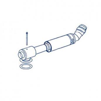 Firebird Low Level Flue Kit 380-600mm Long (150mm Diameter)