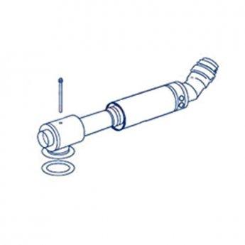 Firebird Low Level Flue Kit 380-600mm Long (185mm Diameter)