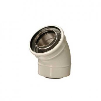Firebird 90 Degree Flue Bend 20/35 (125mm diameter)