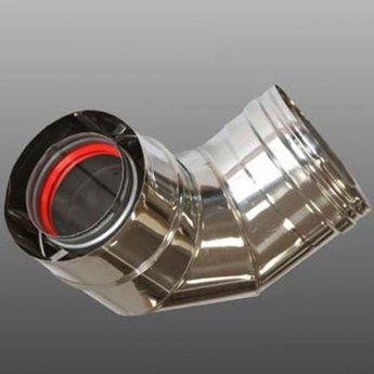 Firebird 90 Flue Elbow - 200mm Diameter