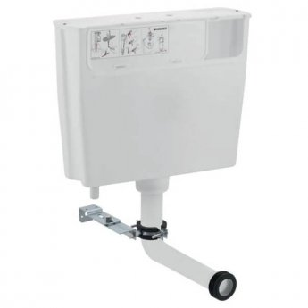 Geberit Concealed Toilet Cistern Single Flush Button - White