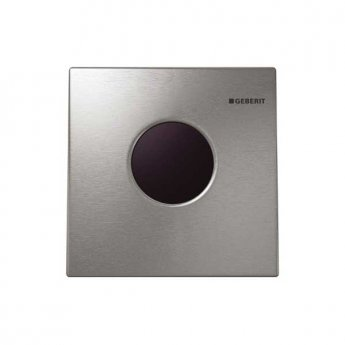 Geberit Sigma 01 Touchless Mains Powered Urinal Flushing Control - Gloss Chrome