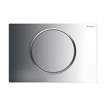 Geberit Sigma10 Single Flush Plate - Gloss/Matt Chrome