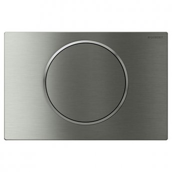 Geberit Sigma 10 Single Flush Plate, Steel