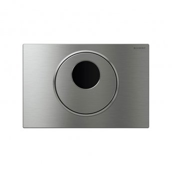 Geberit Sigma10 Flush Control - Stainless Steel